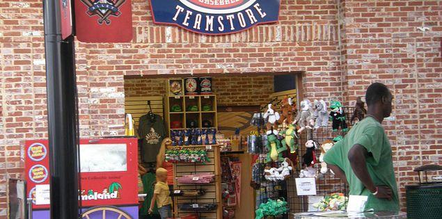 A store in South Carolina's Fluor Field in Greenville