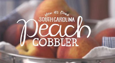 peach cobbler south carolina