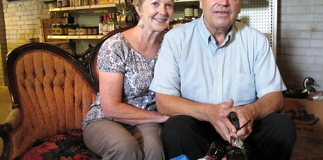 Gina and Dupre Percival owners of 302 Artisans in Columbia, South Carolina