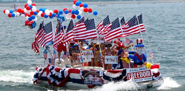 If you're searching for things to do in SC, check out our exciting Independence Day boat parades.