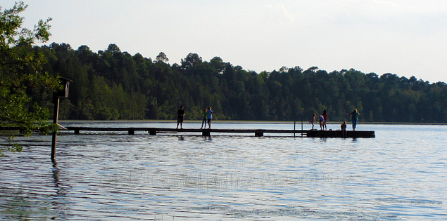 Swimming at Cheraw State Park