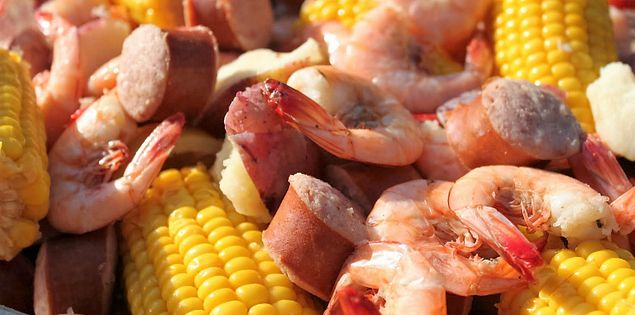 Lowcountry Boil Get Carried Away