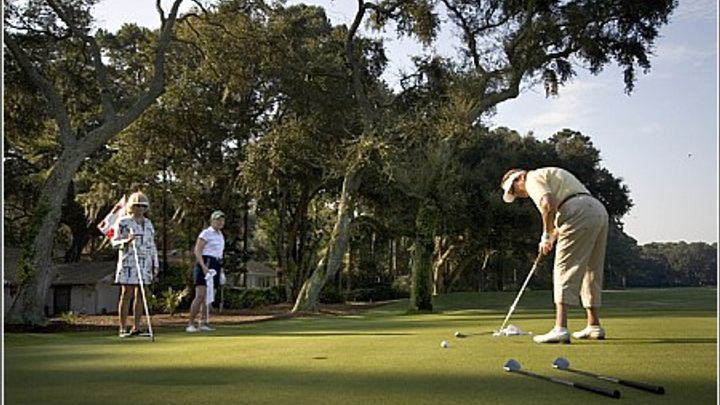 Golf courses in South Carolina are perfect for girlfriend getaways!