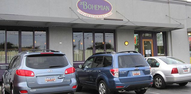 The Bohemian located in Greenville, South Carolina