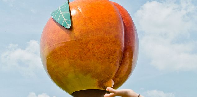 Peachoid in Gaffney
