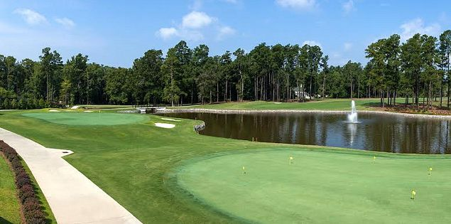 18th hole Orangeburg Country Club