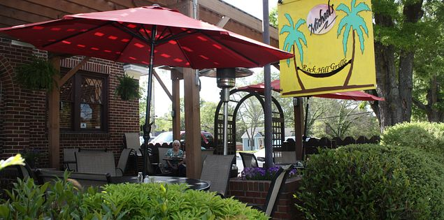 out door restaurant Michael's Rock Hill Grill