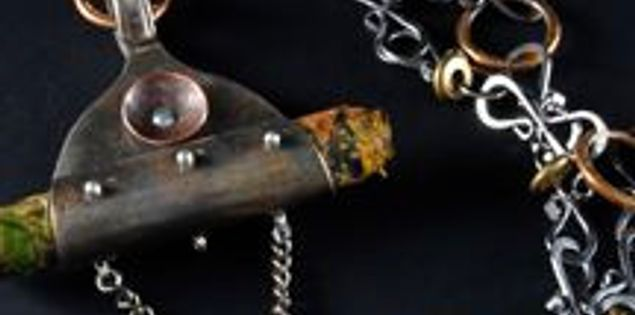 South Carolina artist Deb Guess makes jewelry from found objects