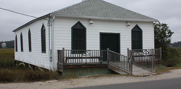 South Carolina's Pawleys Island Chapel