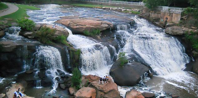 South Carolina's Falls Park on the Reedy River