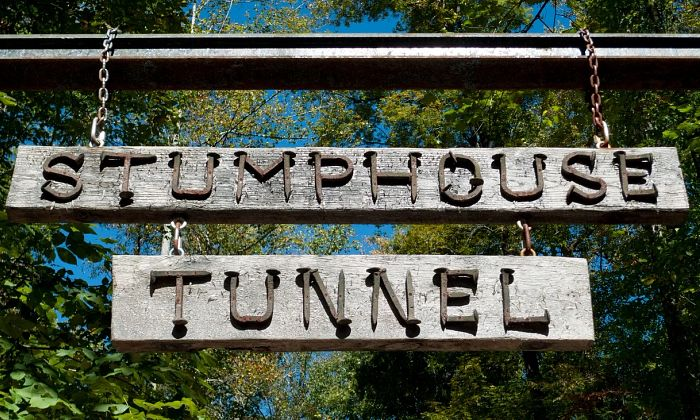 Issaqueena Falls / Stumphouse Tunnel