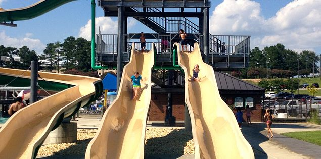 Visiting the water park is one of the many fun things to do in Columbia, South Carolina.