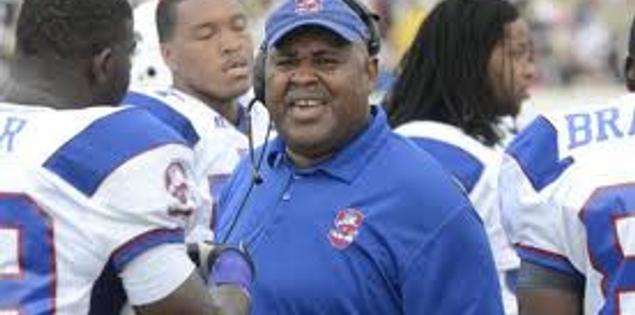 South Carolina State football coach Buddy Pough