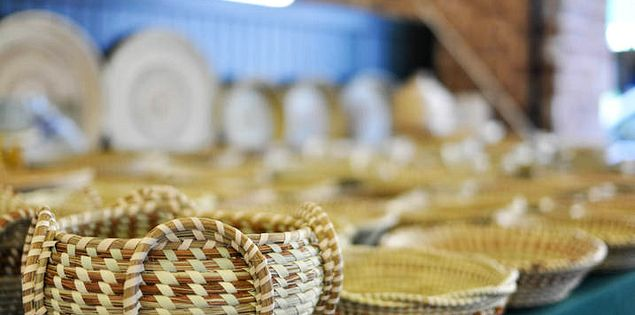 Find places to buy sweetgrass baskets in Charleston, South Carolina.