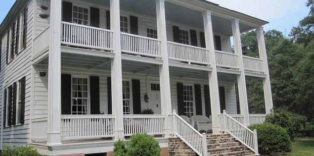 The Hopsewee Plantation in Georgetown, South Carolina