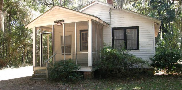 South Carolina's Gantt Cottage visited by Martin Luther King Jr.