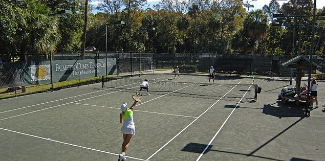 Palmetto Dunes is one of the best places to play tennis on Hilton Head Island!