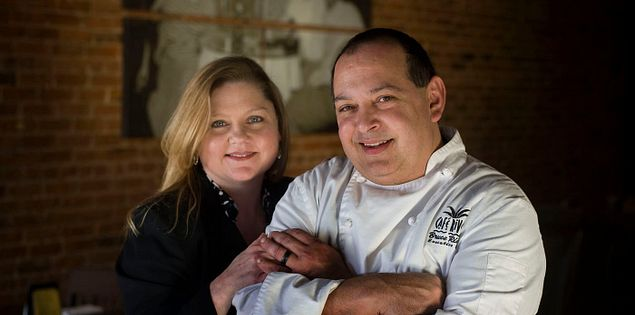 South Carolina's Chef Bruce and Lucinda Rivera of Rivera's in Greer