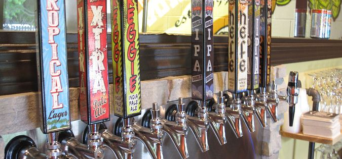 Bar Taps hilton head brewing company