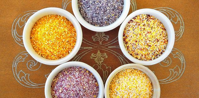 colorful grits