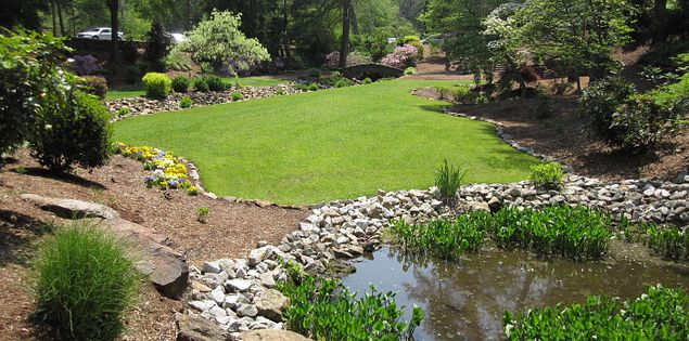 Rock Quarry Garden in Greenville, South Carolina