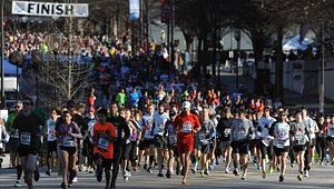 Greenville News Run Downtown