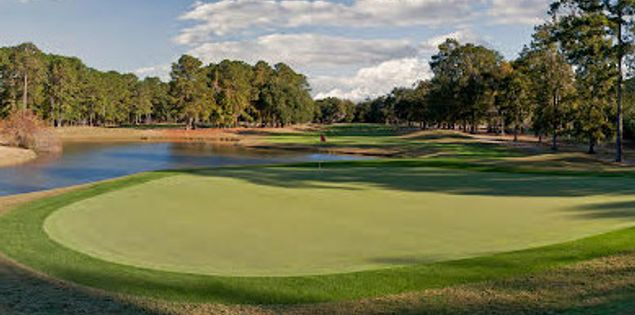 Island West Golf Club's fourth hole in Hilton Head Island