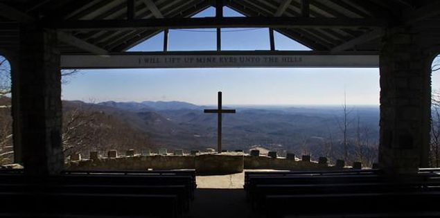 "Symmes Chapel ""Pretty Place"""
