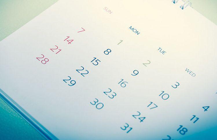 Rates & Calendar