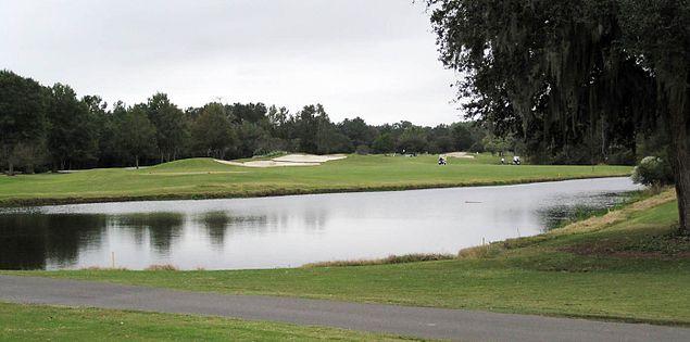 Willbrook Plantation's second hole.