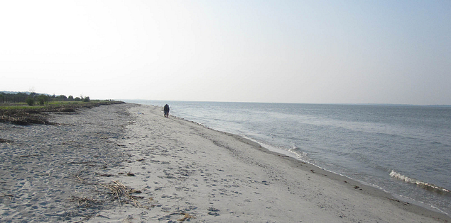 South Carolina's Mitchelville Beach on the Port Royal Sound