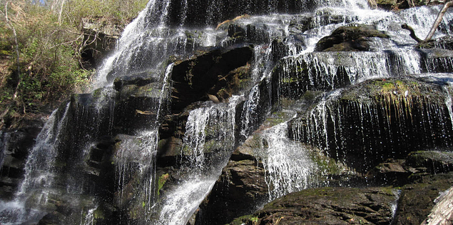 Yellow Branch Falls in South Carolina's Oconee County