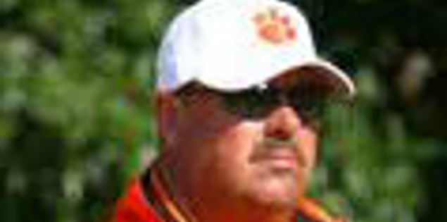 Clemson's golf coach Larry Penley of South Carolina