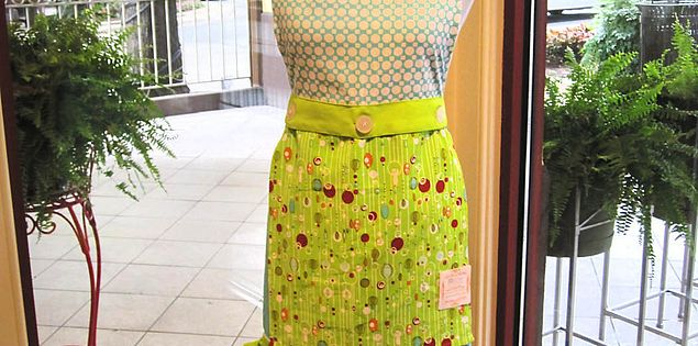 Aprons for sale at Charleston Cooks! in Greenville