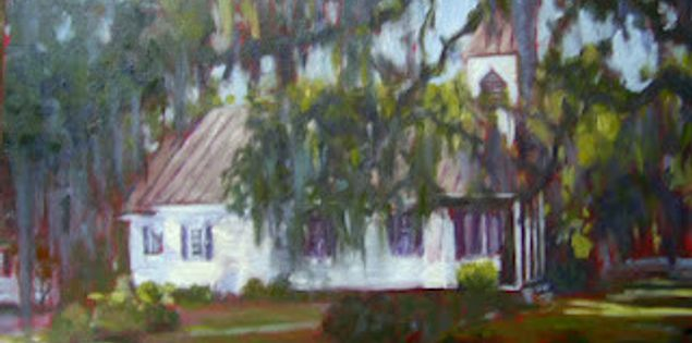 Painting of Editsto by Columbia, South Carolina artist Noelle Brault