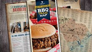 SC BBQ Trail Map