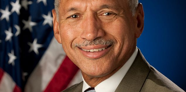 Former astronaut Charles Bolden from Columbia, South Carolina