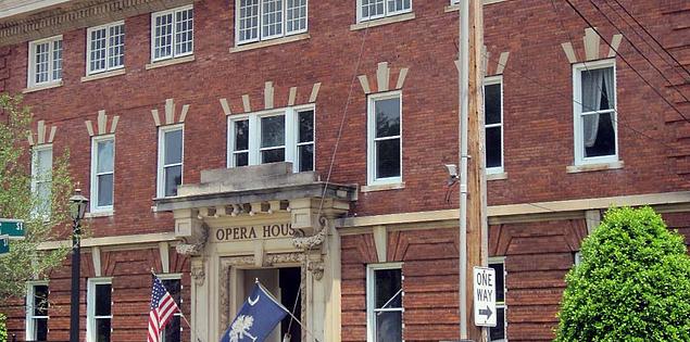 The Abbeville Opera House in South Carolina