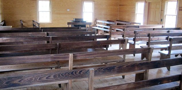 The Pauleys Swamp Primitive Baptist Church