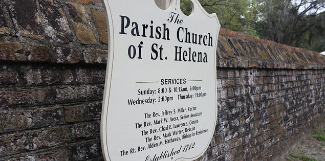 Parish Church of St. Helena in Beaufort