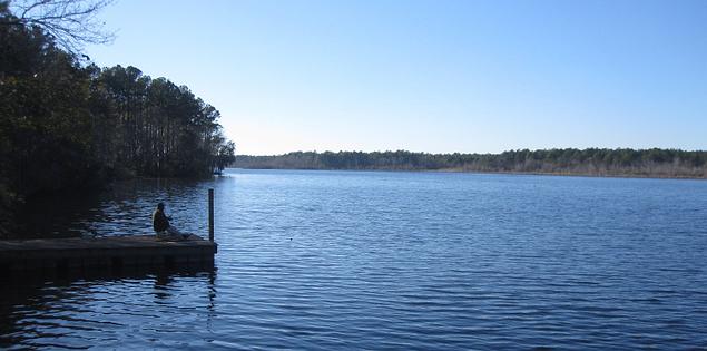 Lake Warren fishing.
