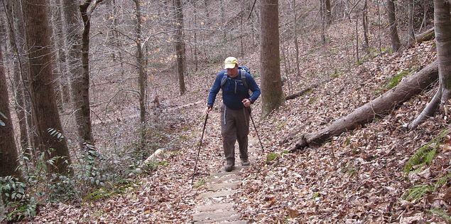 Hike in Upstate South Carolina.
