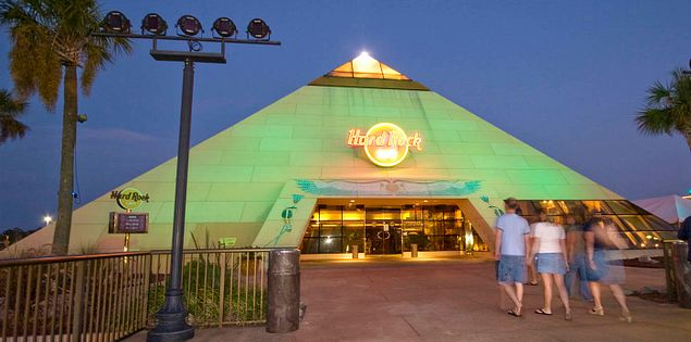 Hard Rock Cafe at South Carolina's Myrtle Beach