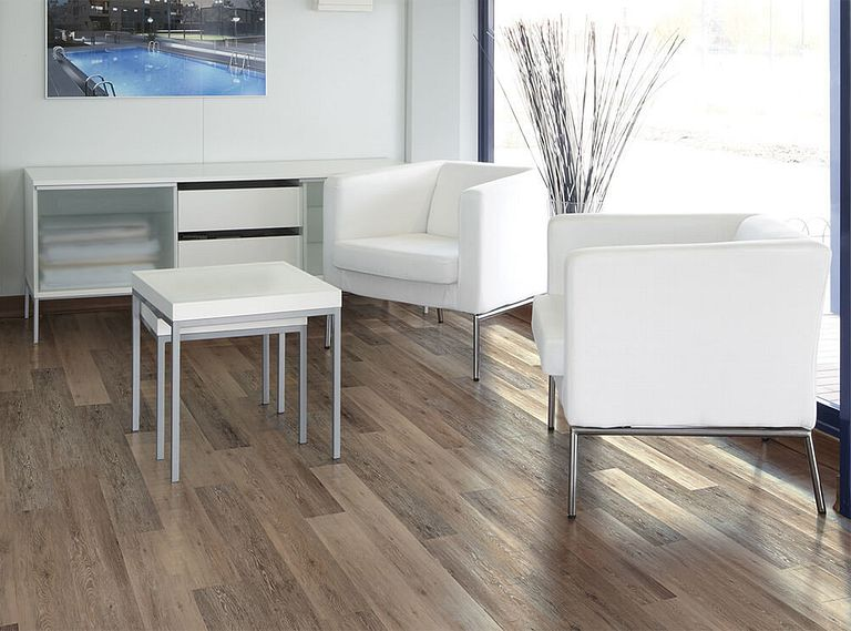 Blackstone Oak EVP Vinyl Flooring Room Scene