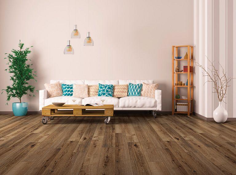 Timeless Luxury - Bold EVP Vinyl Flooring Room Scene