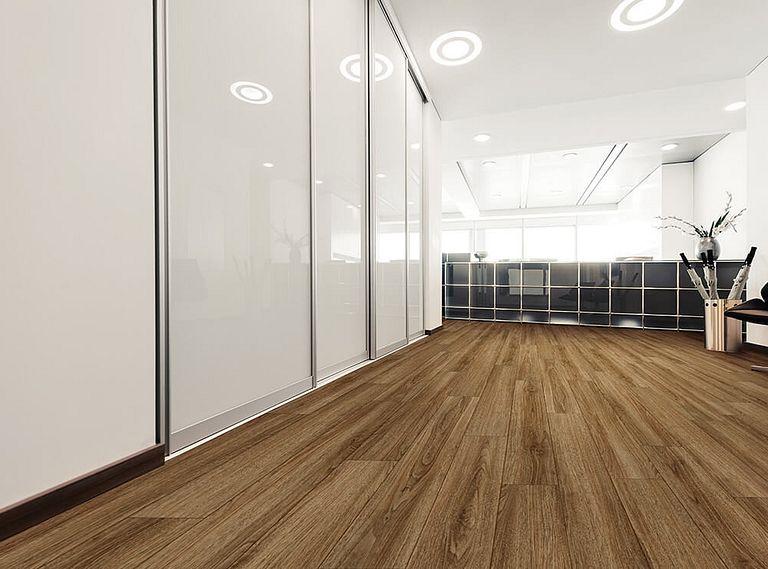 Rocca Oak EVP Vinyl Flooring Room Scene