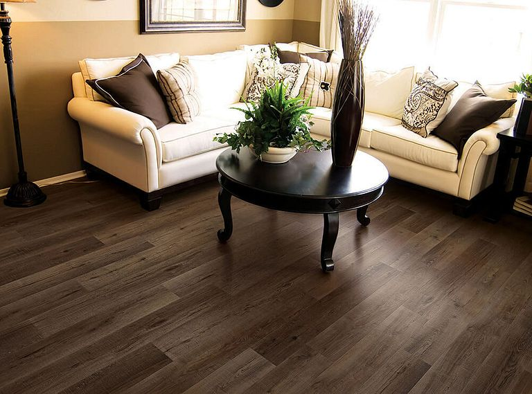 CANARY OAK EVP Vinyl Flooring Room Scene