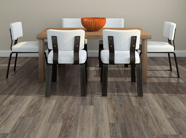 Alabaster Oak EVP Vinyl Flooring Room Scene