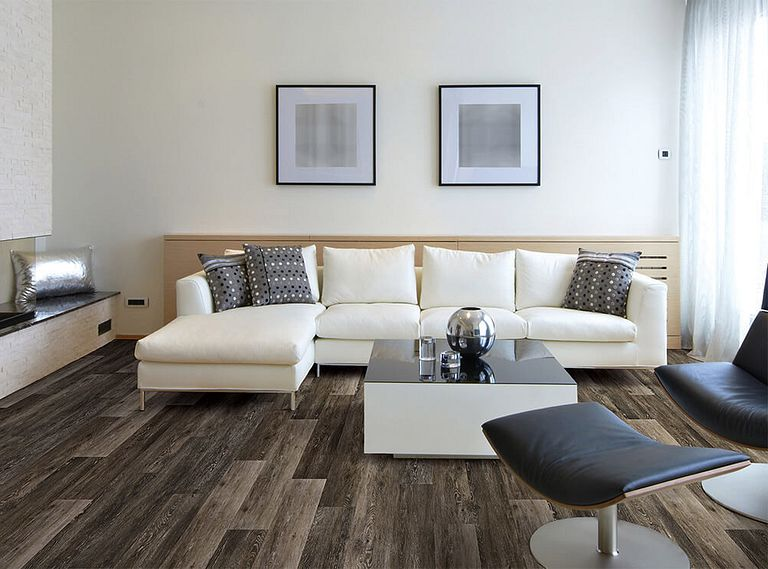 HUDSON VALLEY OAK EVP Vinyl Flooring Room Scene