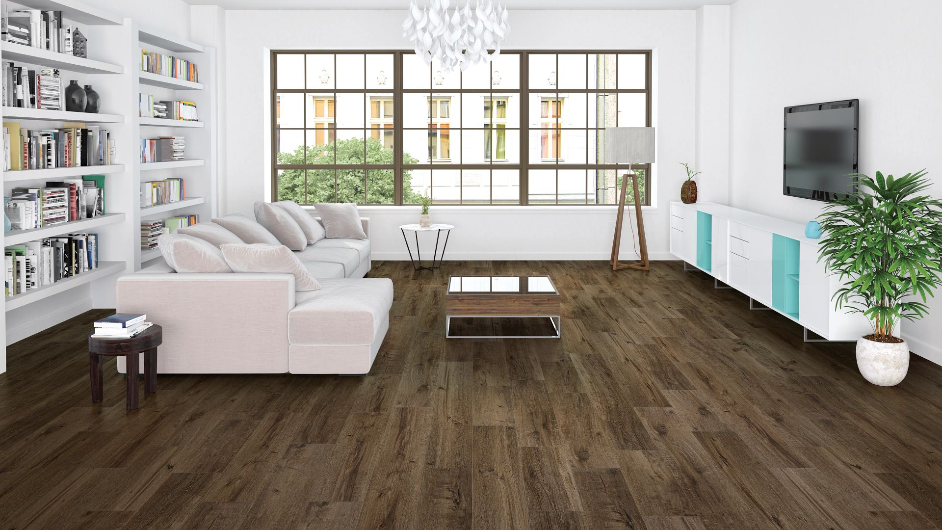 Grande Willis Oak EVP Vinyl Flooring Product Scene